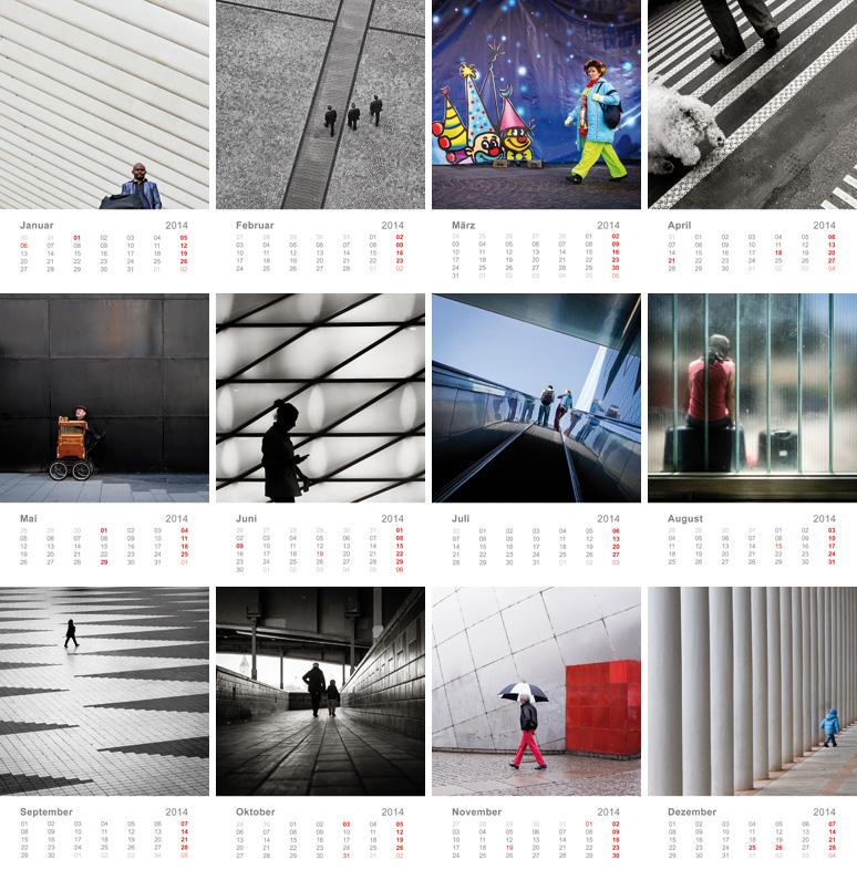 querformat fotografie - Achim Katzberg - Der Kalender 2014