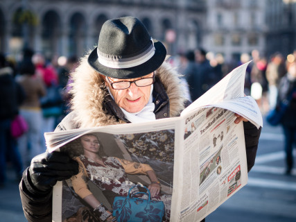 querformat-fotografie - Achim Katzberg - Milano Streets - Milano Streets #8 - PRADA