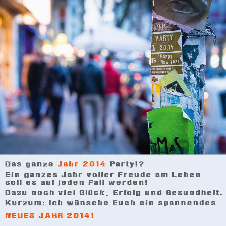 DANKE 2013! FROHES NEUES JAHR 2014! - querformat fotografie - Achim ...