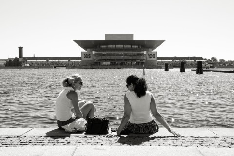 querformat-fotografie - Achim Katzberg - Royal Copenhagen - The Street Meet - [The Royal Danish Opera ● Kopenhagen / Juli 2015]