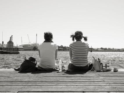 querformat-fotografie - Achim Katzberg - Royal Copenhagen - The Street Meet - [Is it you, Pipi L.? ● Kopenhagen / Juli 2015]