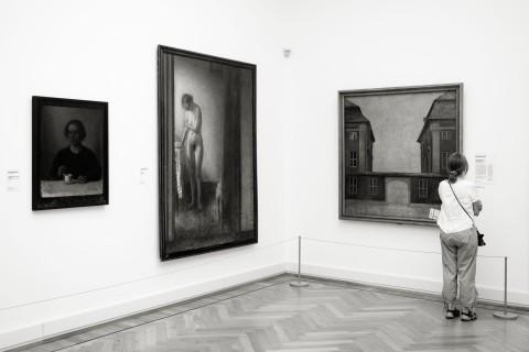 querformat-fotografie - Achim Katzberg - Royal Copenhagen - The Street Meet - [National Gallery ● Kopenhagen / Juli 2015]