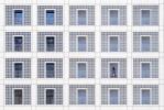 querformat-fotografie - Achim Katzberg - Street - Einzelgänger - [Stadtbibliothek ● Stuttgart / November 2014]