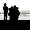 querformat-fotografie - Achim Katzberg - Street - Silhouetten & Schatten - Waiting