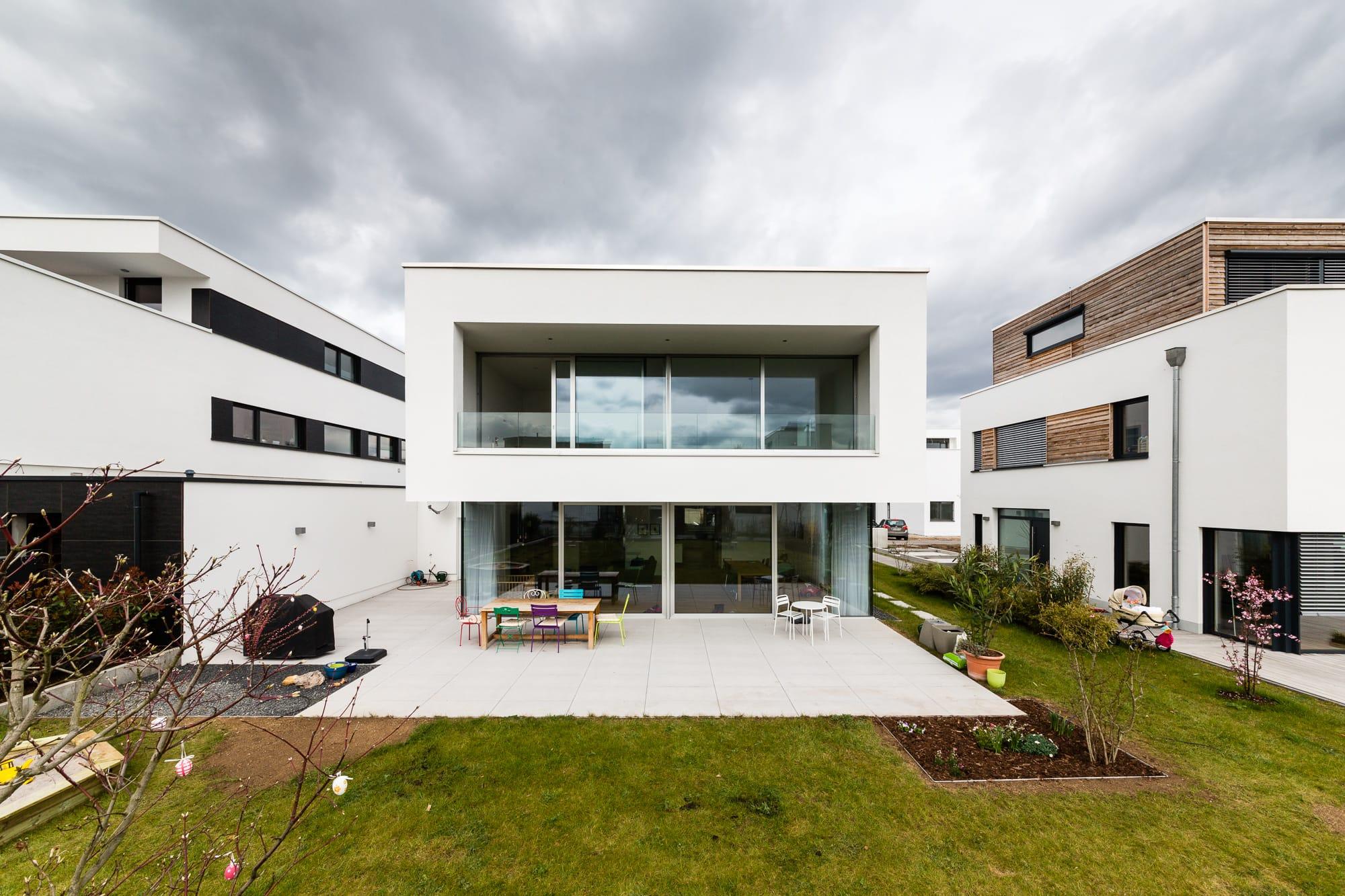 architektur wohnhaus s1 mainz querformat fotografie