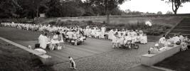 querformat-fotografie - Achim Katzberg - Le premier Diner en blanc Mainz 2012 - vue d'ensemble
