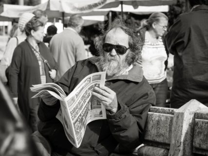 querformat-fotografie - Achim Katzberg - [Man with beard - Lissabon / November 2016]