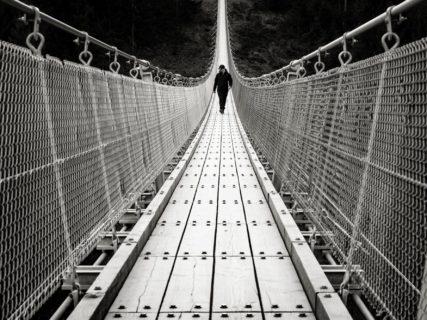 "querformat-fotografie - Achim Katzberg - Meine persönliche ""Best of Streets"" Auswahl aus dem 1. Quartal 2017 - [Geierlay - Hunsrück / Februar 2017]"