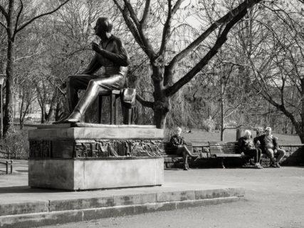 """querformat-fotografie - Achim Katzberg - Meine persönliche """"Best of Streets"""" Auswahl aus dem 1. Quartal 2017 - [Sit-in - Berlin / März 2017]"""