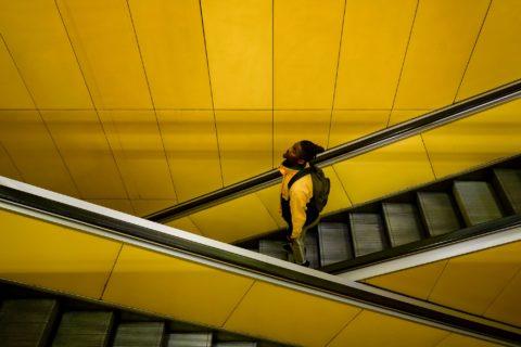 querformat-fotografie - Achim Katzberg - [Das gelbe von der Straße - Duisburg / März 2018]