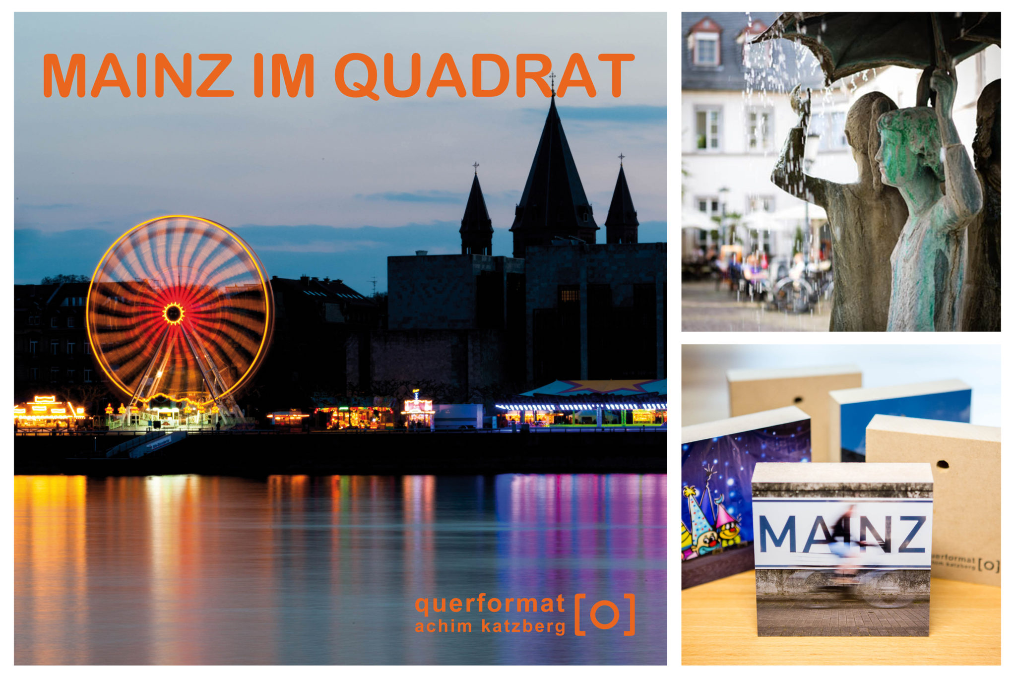 querformat-fotografie - Achim Katzberg - Collage_Mainz_im_Quadrat_2020