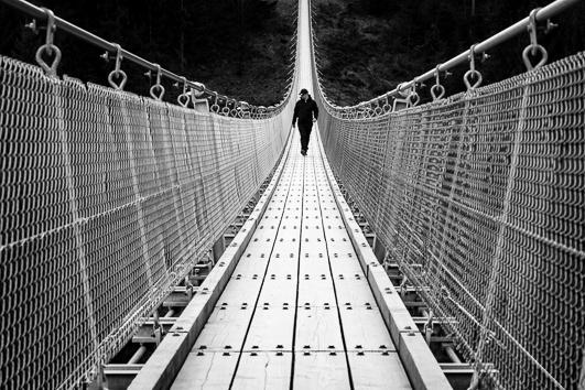 querformat-fotografie - Achim Katzberg - Diverse Motive im Format 19 x 27 cm - [Geierlay - Hunsrück / Februar 2017]