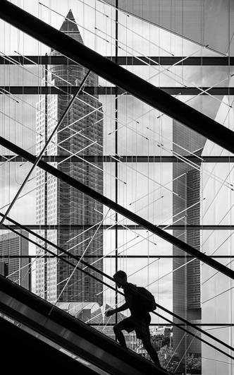 querformat-fotografie - Achim Katzberg - Diverse Motive im Format 60 x 40 - [Messeturm ● Frankfurt / Juni 2016]
